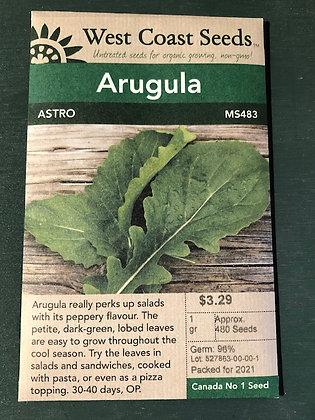 Arugula Astro  -  West Coast Seed