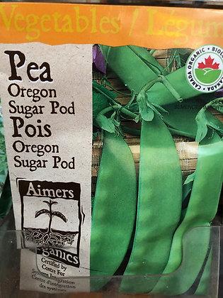 Seed - Aimers Organic - Pea Oregon Sugar Pod