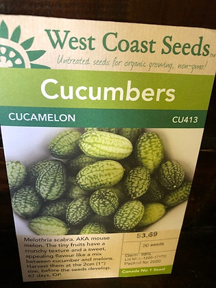 Cucamelon  -  West Coast Seed