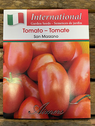Tomato San Marzano  -  Aimers International