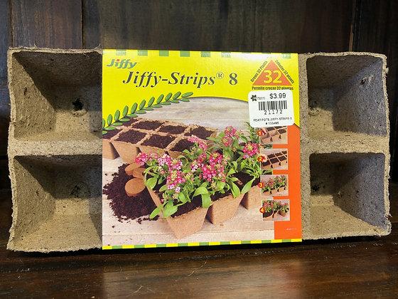 Jiffy Peat Pot Strips - 4 x 8