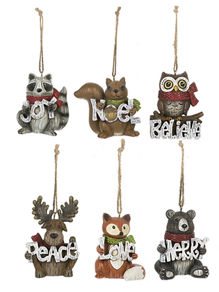 Woodland Friends Ornament