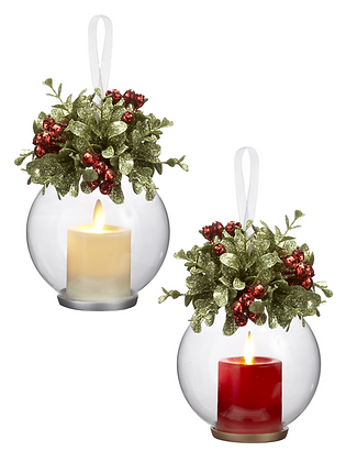 Clear Votive Ornaments