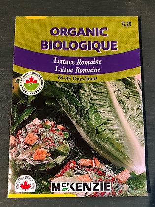 Lettuce Romaine - McKenzie Organic