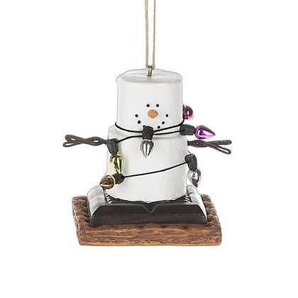 S'mores with Lights Ornament