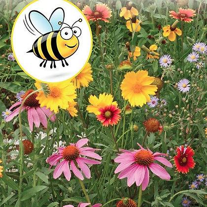 Wildflower Honeybee Mix  -   McKenzie Seed