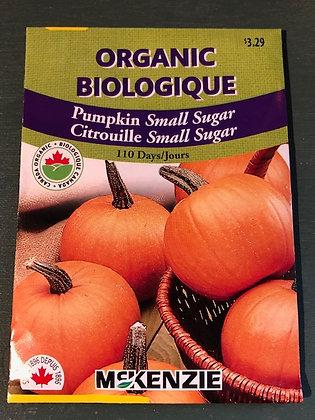 Pumpkin Small Sugar - McKenzie  Organic