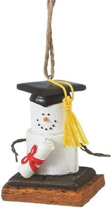 S'mores Graduate Ornament