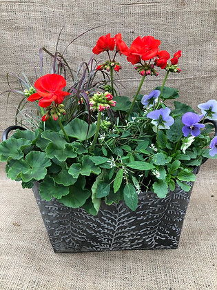 "Mothers Day Planter Large (13"" Long)r - Please Select Colour"