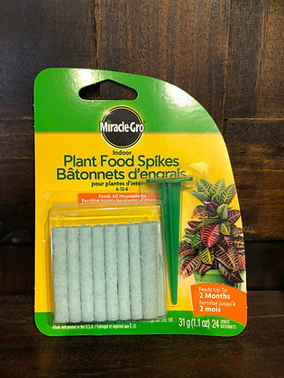 Miracle Gro Indoor Plant Spikes 6-12-6