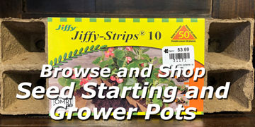Shop online for seedstarting grower pots at Carleton Place Nursery Ltd.