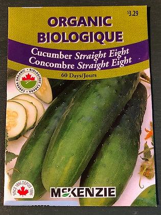 Cucumber -  Straight Eight- McKenzie Organic