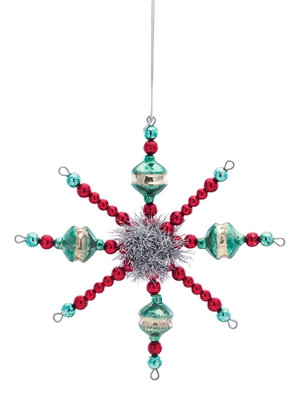 "Snowflake Ornament 7"""