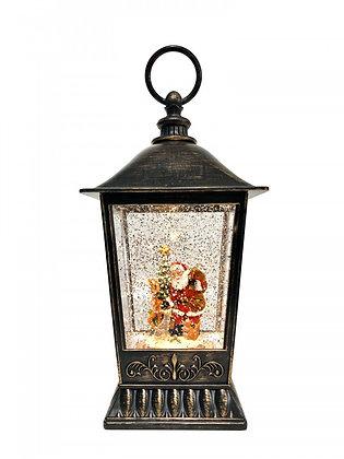 Santa/Deer Lantern Water Globe LED