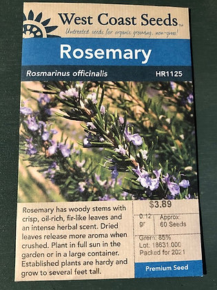 Rosemary  -  West Coast Seed