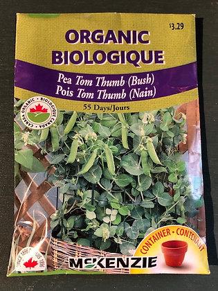 Pea Tom Thumb  -  McKenzie  Organic
