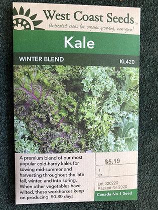 Kale Winter Blend  -  West Coast Seed