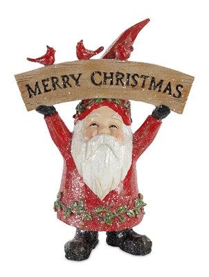 """Santa with Cardinals 8"""""""