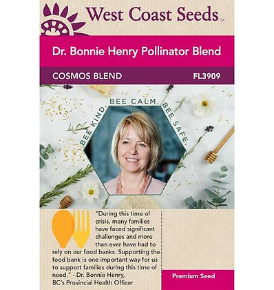 Dr. Bonnie Henry Pollinator Blend -  West Coast Seed