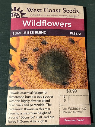 Bumble Bee Blend  -  West Coast Seed