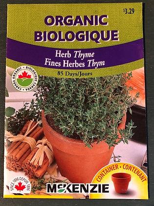 Thyme Organic  -  McKenzie  Seed