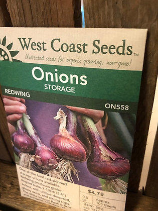 Seed - West Coast -Onion Red Wing Storage