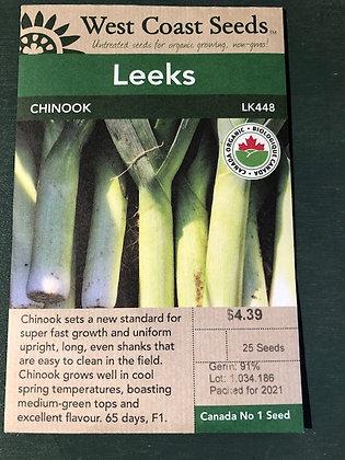 Leek Chinook  -  West Coast Seed