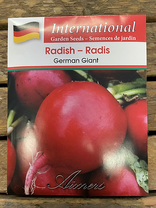 Radish German Giant  -  Aimers International