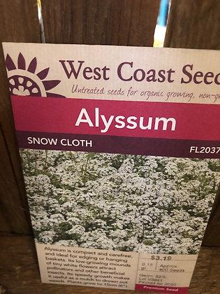 Alyssum Snow Cloth  -  West Coast Seed