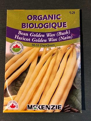 Bean Golden Wax  -  McKenzie  Organi