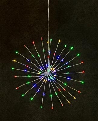 "Starburst Light Multi Colour LED 16"""