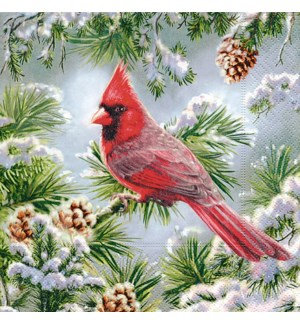 Napkin Luncheon - Red Cardinal