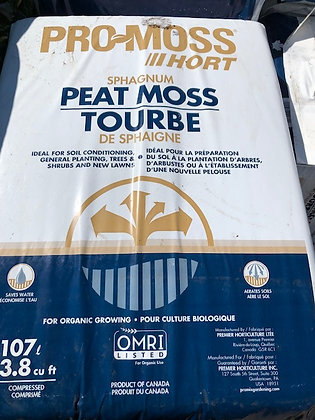 Peat Moss 2.2 Cu Ft