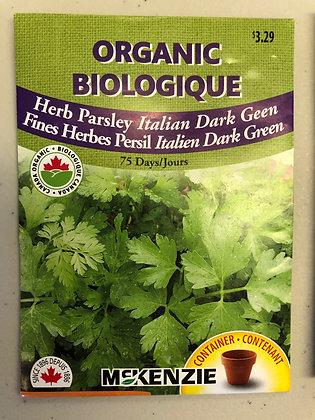 Seed - McKenzie Organic -Herb Italian Parsley