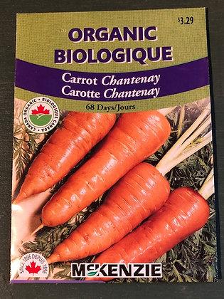 Carrot  Chantenay - McKenzie Organic