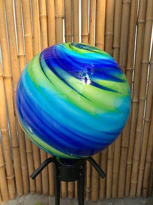 Gazing Ball - Blown Glass - 29483