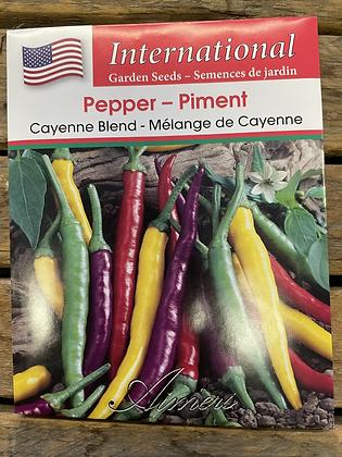 Pepper Cayenne Blend  -  Aimers International