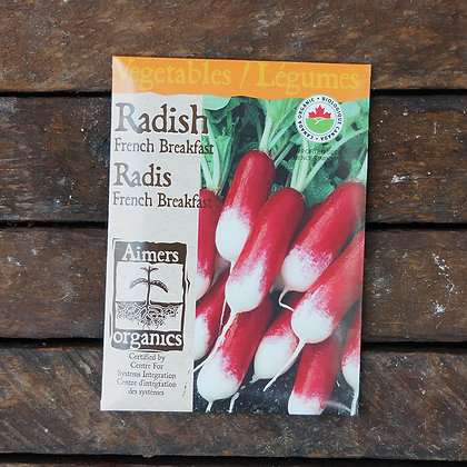 Radish French Breakfast  -  Aimers Seed