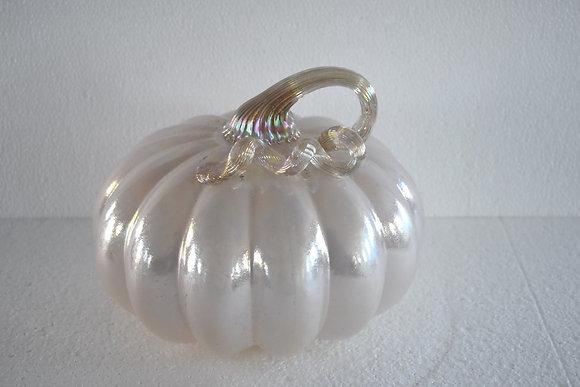Glass Pumpkin - Iridescent