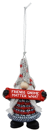 Mini Gnome Friends Ornament