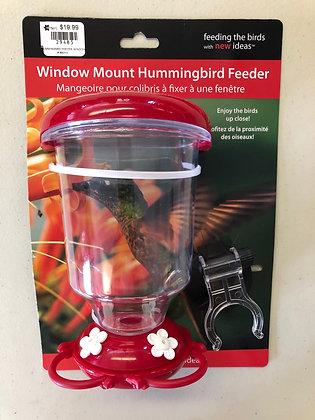 Hummingbird Feeder - Window Mount