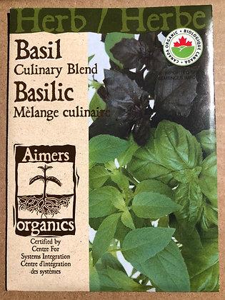 Basil Culinary Blend -  Aimers Organic