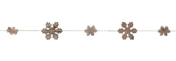 Snowflake Garland 5'