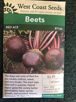 Seed - West Coast Beet Red Ace