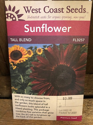 Sunflower Tall Blend  -  West Coast Seed