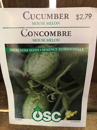 Seed - OSC - Cucumber Mouse Melon