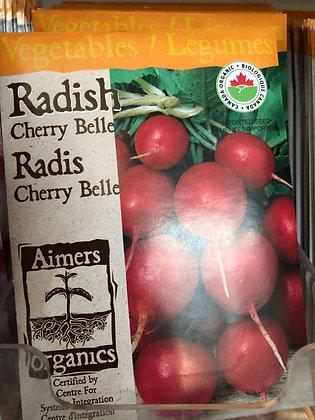 Radish Cherry Belle  -  Aimers Organic