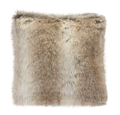 "Pillow Faux Fur 17"""