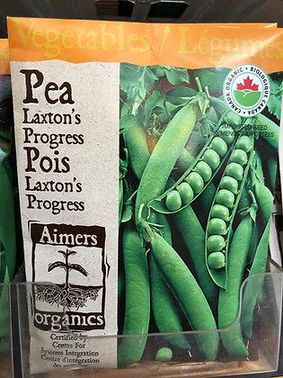 Seed - Aimers Organic - Pea Laxtons Progress
