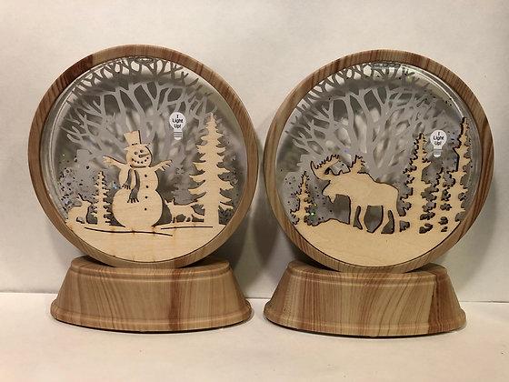 Moose/Snowman Shimmer